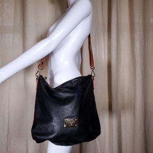Valentina Italia leather tote shoulder bag